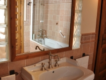 Baño 7 Casa Rural La Cantañera Cañicosa Segovia
