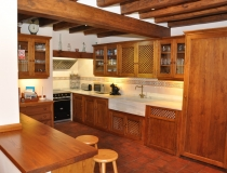 Cocina Casa Rural La Cantañera Cañicosa Segovia