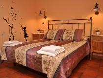 Habitación 2 Casa Rural La Cantañera Cañicosa Segovia