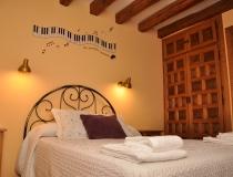 Habitación 4 Casa Rural La Cantañera Cañicosa Segovia