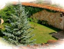 Jardin Exterior Casa Rural La Cantañera Cañicosa Segovia