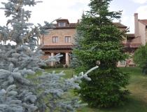 Vista Jardin Casa Rural La Cantañera Cañicosa Segovia