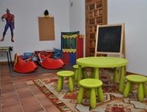 Sala juegos Casa Rural La Cantañera Cañicosa Segovia