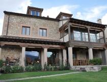Porche Casa Rural La Cantañera Cañicosa Segovia
