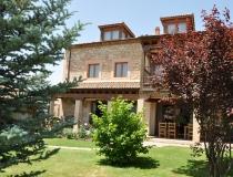 Porche Jardín Casa Rural La Cantañera Cañicosa Segovia