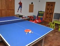 Ping Pong Casa Rural La Cantañera Cañicosa Segovia