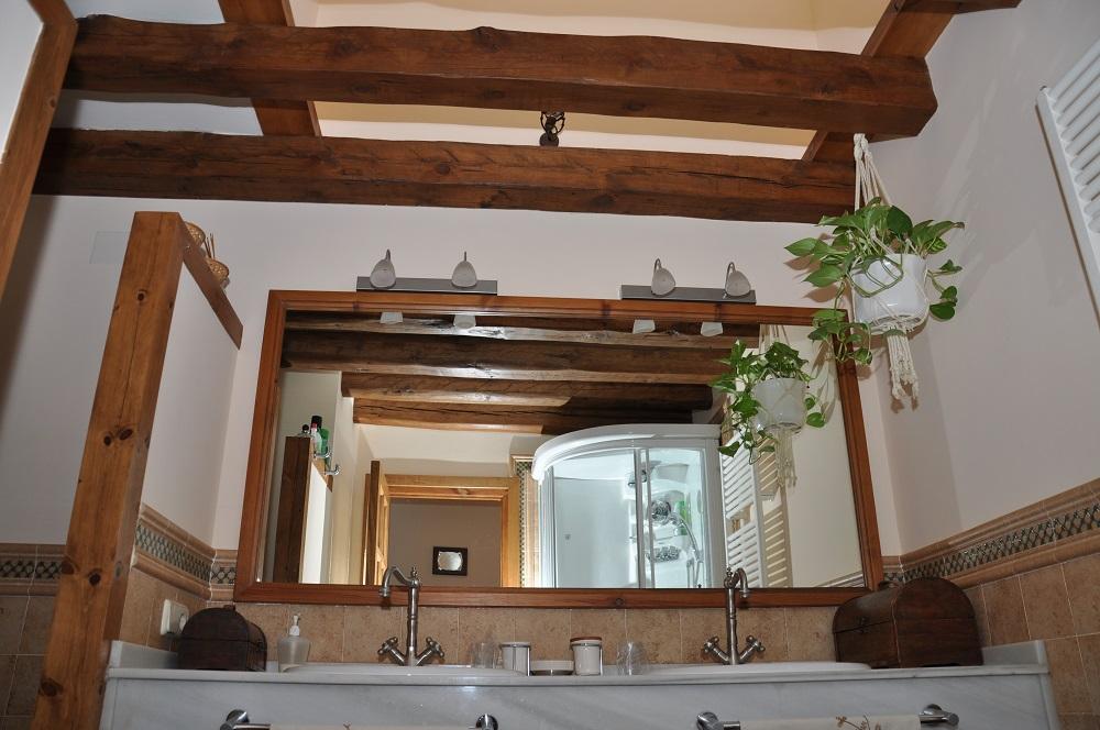 Baño suite Casa Rural La Cantañera Cañicosa Segovia