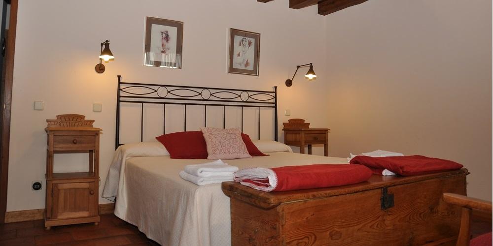 Suite1 Casa Rural La Cantañera Cañicosa Segovia