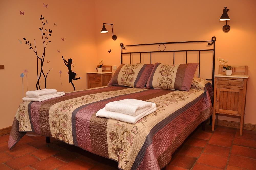 Habitación3 Casa Rural La Cantañera Cañicosa Segovia