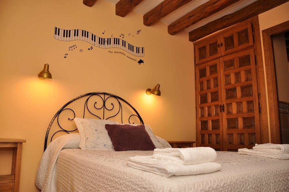 Habitación4 Casa Rural La Cantañera Cañicosa Segovia
